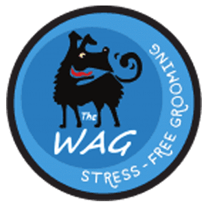 The Wag Dog Grooming Logo
